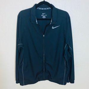 •Nike Dri-Fit Full-Zip Windbreaker